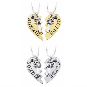 Jewelry - 💎Bonnie And Clyde Couples Necklaces Set💎